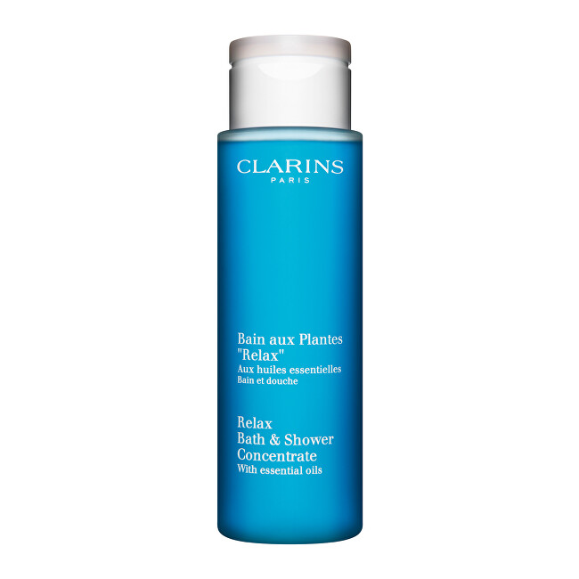 Clarins Relaxační bylinná koupel Relax (Relax Bath & Shower Concentrate) 200 ml
