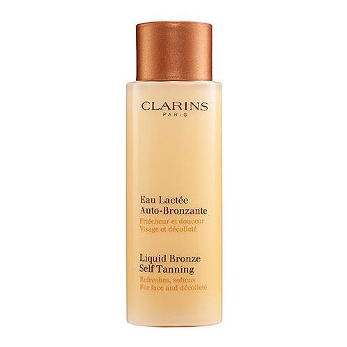 Clarins Samoopalovací mléko na obličej (Liquid Bronze Self Tanning) 125 ml