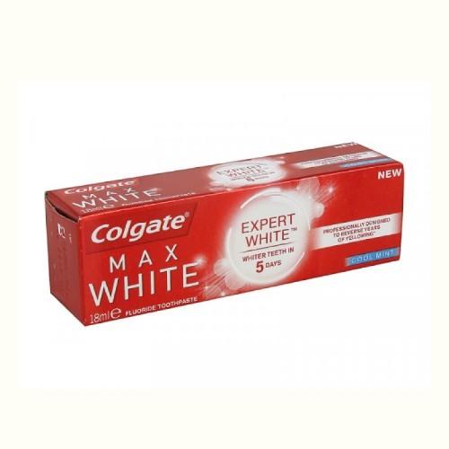 Colgate Zubní pasta Max White Expert White Cool Mint 18 ml