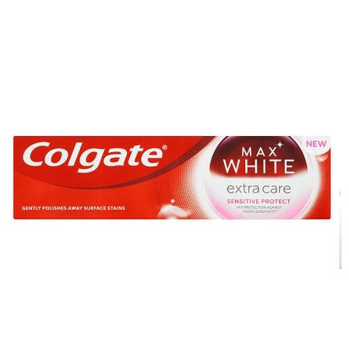 Colgate Zubní pasta pro citlivé zuby s bělicím účinkem Max White Extra Care Sensitive 75 ml