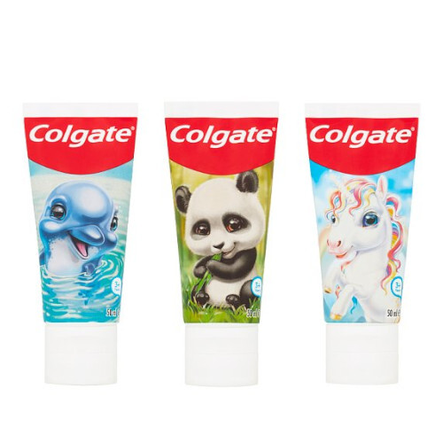 Colgate Animal Gang zubní pasta pro děti od 3 let 50 ml
