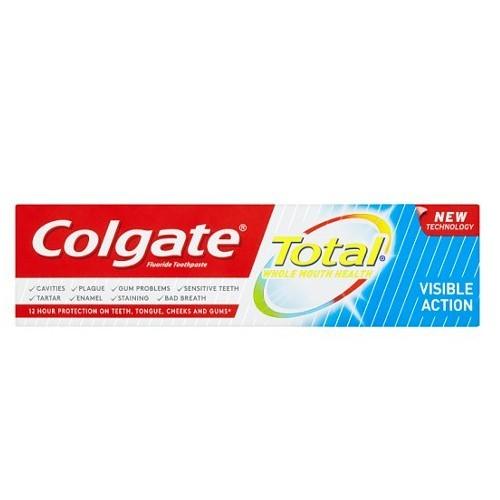 Colgate Zubní pasta proti bakteriím Total Visible Action 75 ml