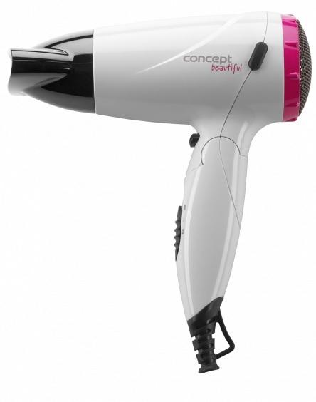 Concept VV5740 Vysoušeč vlasů Beautiful 1500 W bílá + růžová