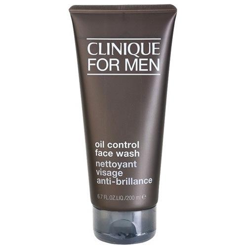 Clinique Curățare îngrijire facială pentru bărbați (ulei Face Control Wash) 200ml