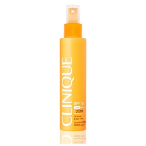 Clinique SPF fără ulei loțiune spray - 30 (Virtu-Oil Body Mist) 144 ml