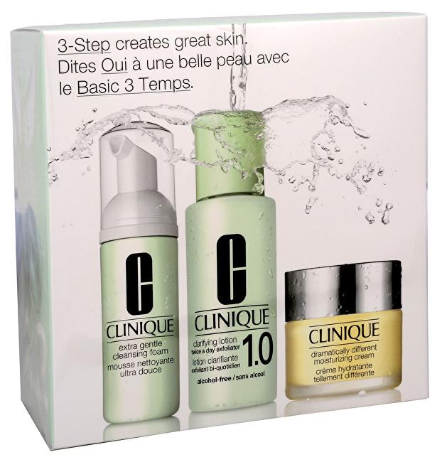 Clinique Sada extra jemnej starostlivosti pre suchú a citlivú pleť (3 Step Intro System Extra Gentle)