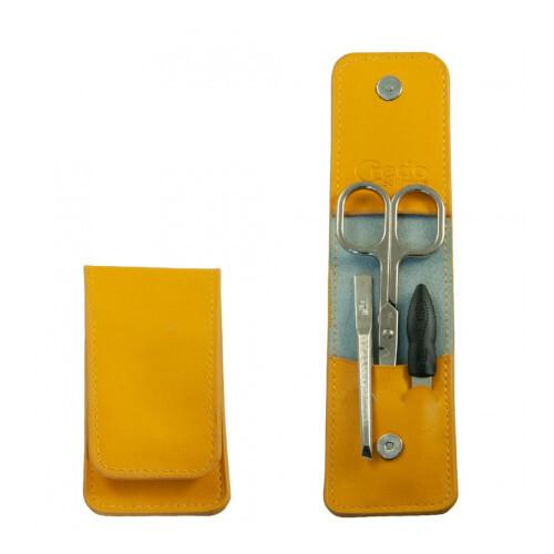 Credo Solingen Luxusní 3 dílná manikúra Pocket 3 Mango
