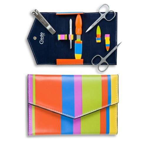 Credo Solingen Luxusní 5dílná manikúra Pop Art 5 - SLEVA - poškozená krabička