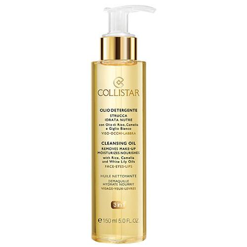 Collistar Čisticí pleťový olej (Cleansing Oil Removes Make-up Moisturizes Nourishes) 150 ml
