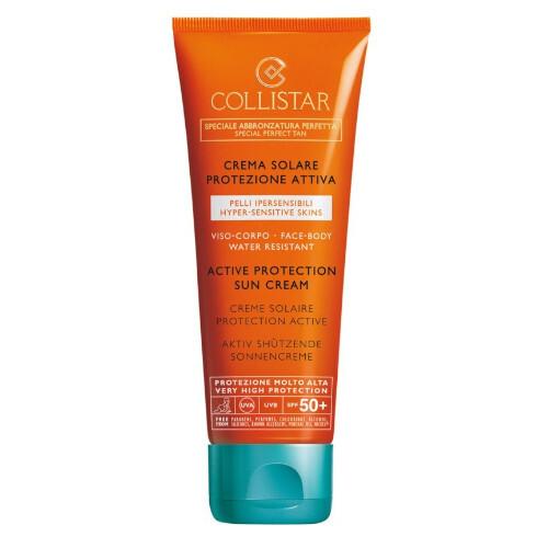 Collistar Ochranný krém na opaľovanie SPF 50 ( Active Protection Sun Cream) 100 ml