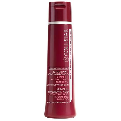 Collistar Regenerační šampon pro slabé a poškozené vlasy (Reconstructing Replumping Shampoo) 250 ml
