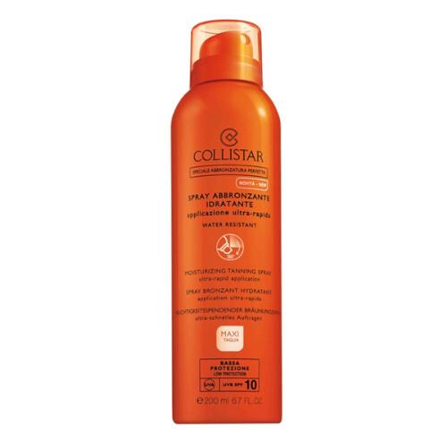 Collistar Sprej na opalování SPF 10 (Moisturizing Tanning Spray) 200 ml