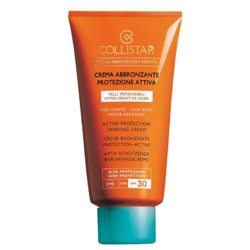 Collistar Vodeodolný krém na opaľovanie SPF 30 ( Active Protection Sun Cream) 150 ml