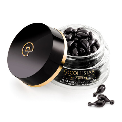 Collistar Zpevňující pleťové sérum v kapsuliach pre zrelú pleť Nero Sublime ( Precious Pearls Face And Neck) 60 ks