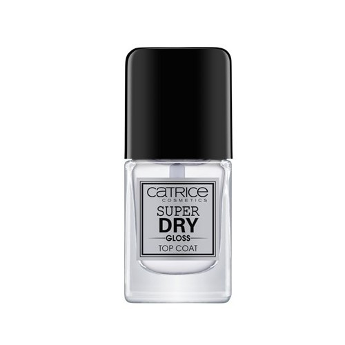 Catrice Krycí lak s lesklým efektem Super Dry Gloss (Top Coat) 10,5 ml