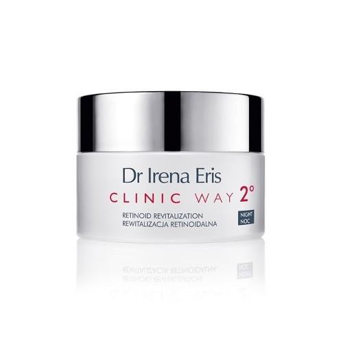 Clinic Way Dermo krém proti vráskám 2° noční péče (Retinoid Revitalization Anti-Wrinkle Night Dermocream) 50 ml