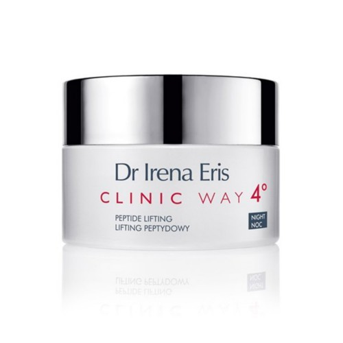 Clinic Way Dermo krém proti vráskam 4 ° nočná starostlivosť (Peptide Lifting Anti-Wrinkle Night Dermocream) 50 ml
