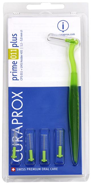 Curaprox Mezizubní kartáčky s držákem Prime 011 Plus 5 ks