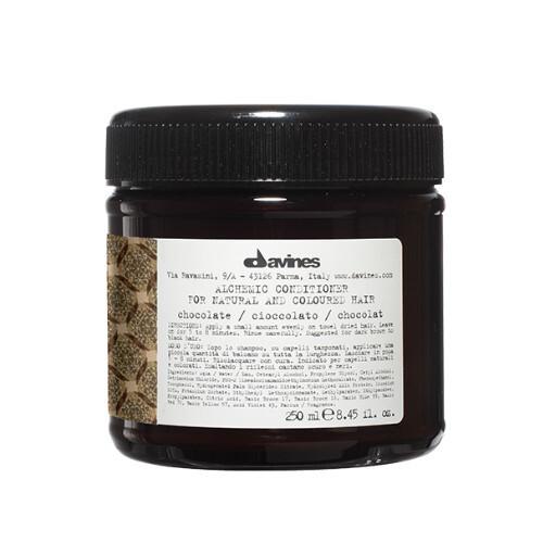 Davines Kondicionér zvýrazňující tmavě hnědou až černou barvu vlasů Alchemic (Chocolate Conditioner) 250 ml