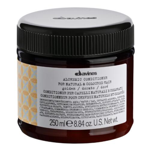 Davines Kondicionér zvýrazňující zlaté a medové blond odstíny vlasů Alchemic (Golden Conditioner) 250 ml
