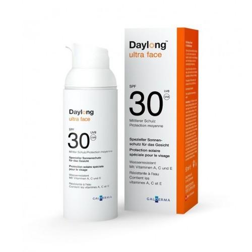 Daylong Ochranný opaľovací krém na tvár SPF 30 (Ultra Face) 50 ml