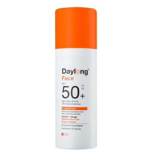 Daylong Zmatňující fluid proti stárnutí pleti SPF 50+ Protect & Care 50 ml