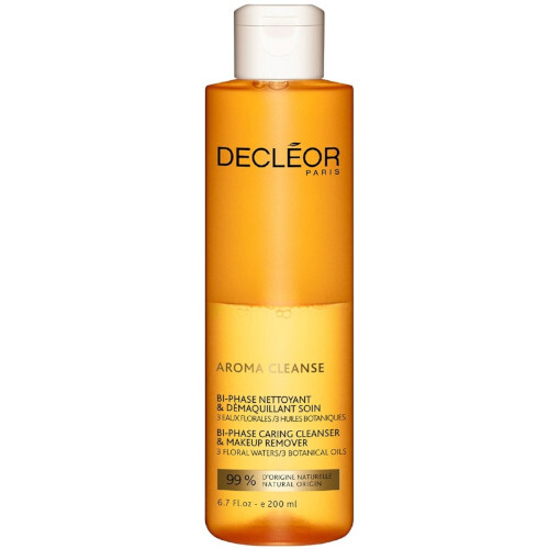 Decléor Dvoufázový odličovač voděodolného make-upu Aroma Cleanse (Bi-Phase Caring Cleanser And Makeup Remover) 200 ml
