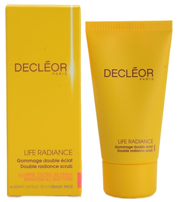 Decléor Peeling pro rozjasnění pleti Life Radiance (Double Radiance Scrub) 50 ml