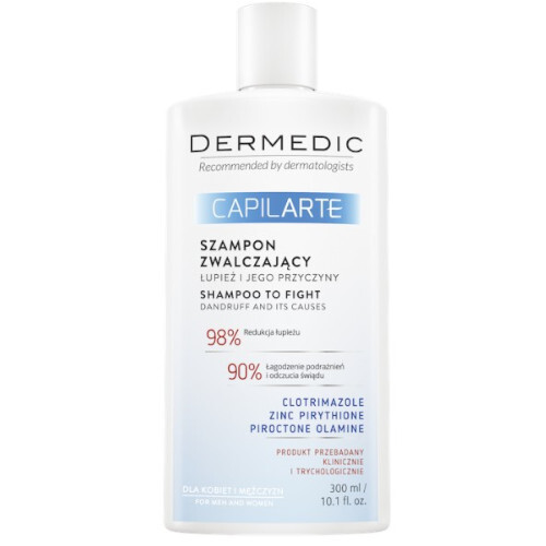 DERMEDIC Šampon proti lupům Capilarte 300 ml