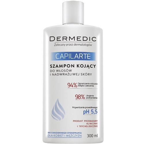DERMEDIC Zklidňující šampon pro citlivou pokožku hlavy Capilarte 300 ml