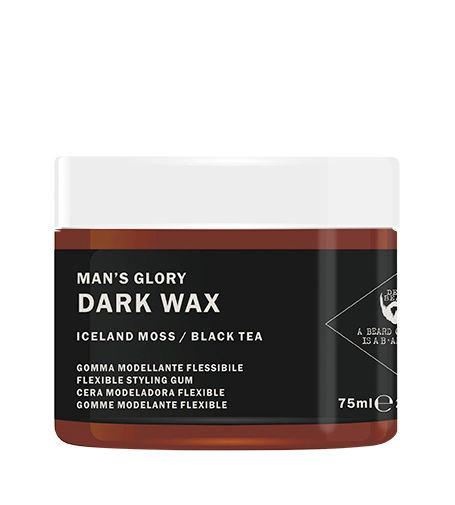 Dear Beard Modelačné vosk Man`s Glory čierny (Dark Wax) 75 ml