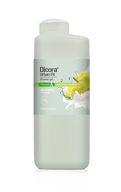 Dicora Sprchový gel s vitamínem A Mléko & meloun (Shower Gel) 400 ml