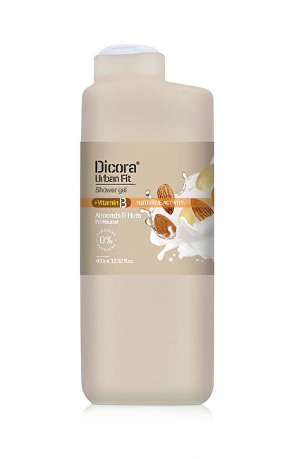 Dicora Sprchový gel s vitamínem B Mandle & ořechy (Shower Gel) 400 ml