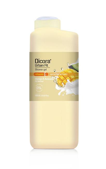 Dicora Sprchový gel s vitamínem E Mango & avokádový olej (Shower Gel) 400 ml