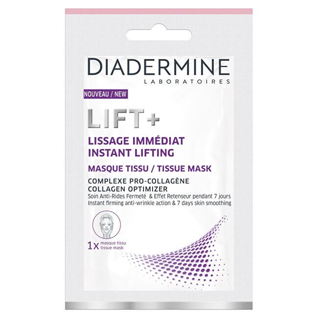 Diadermine Látková pleťová maska s optimalizátorem kolagenu Lift+ 1 ks