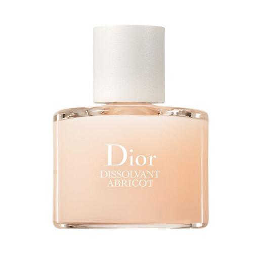 Dior Odlakovač na nehty bez acetonu Dissolvant Abricot (Nail Polish Remover) 50 ml