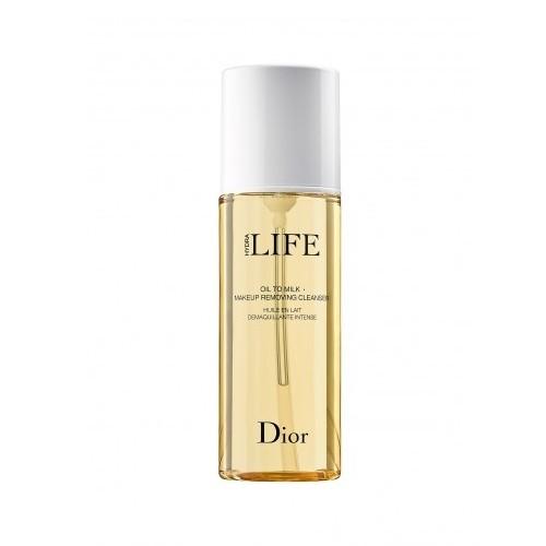 Dior Olejový odličovač make-upu pro všechny typy pleti Hydra Life (Oil To Milk - Make Up Removing Cleanser) 200 ml