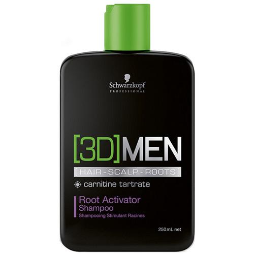 Fotografie Schwarzkopf Professional Aktivační šampon pro muže 3D (Root Activator Shampoo) 250 ml