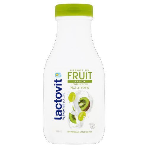Lactovit Antioxidační sprchový gel Kiwi a hrozny (Fruit Shower Gel) 300 ml