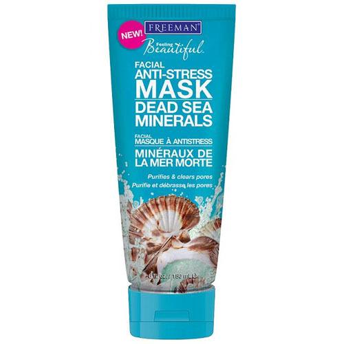Freeman Antistresová pleťová maska s minerály z Mrtvého moře (Facial Anti-Stress Mask Dead Sea Minerals) 15 ml