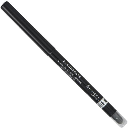 Rimmel Automatická voděodolná tužka na oči (Exaggerate Eye Definer) 0,28 g 263 Starlit Black