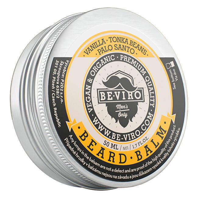 Beviro Balzám na vousy s vůní vanilky, palo santo a tonkových bobů (Beard Balm) 15 ml