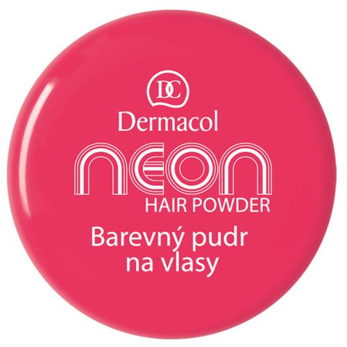 Dermacol Barevný pudr na vlasy Neon 2,2 g č.3 růžová