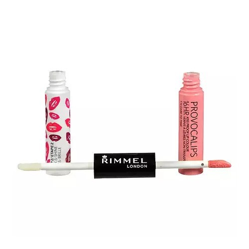 Rimmel Barva a lesk na rty Provocalips 16Hr (Kiss Proof Lip Colour) 3 ml + 4 ml 310 Little Minx