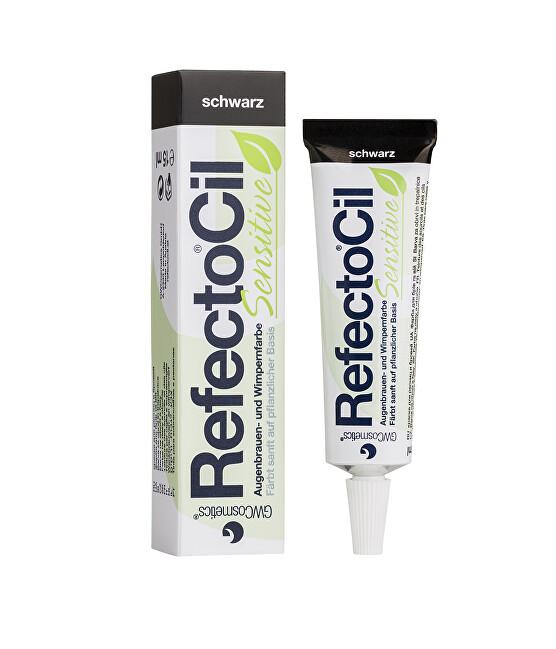Refectocil Barva na řasy a obočí Sensitive 15 ml Černá