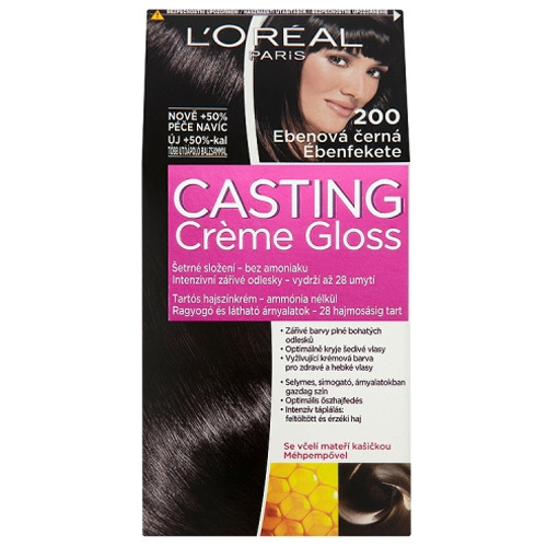 Loreal Paris Barva na vlasy Casting Crème Gloss 500 kaštanová