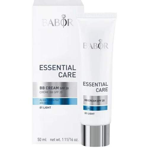Babor BB krém pro suchou pleť SPF 20 Essential Care (BB Cream) 50 ml 01 Light