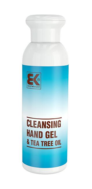 Brazil Keratin Bezoplachový hygienický gel na ruce Tea Tree Oil (Cleansing Hand Gel) 100 ml