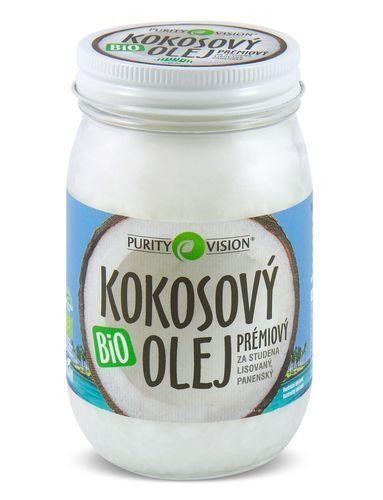 Purity Vision BIO Panenský kokosový olej lisovaný za studena PURITY VISION 700 ml