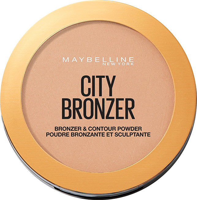 Maybelline Bronze ra kontúrovacia púder ( Bronze r   Contour Powder) 8 g 200 Medium Cool